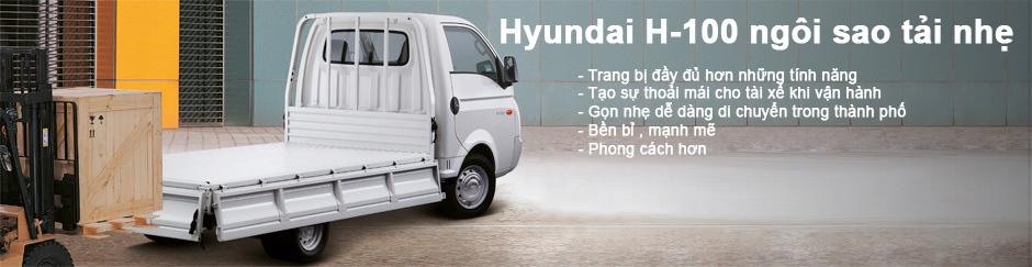 Hyundai Porter H100 dòng xe tải nhẹ 1.5 tấn