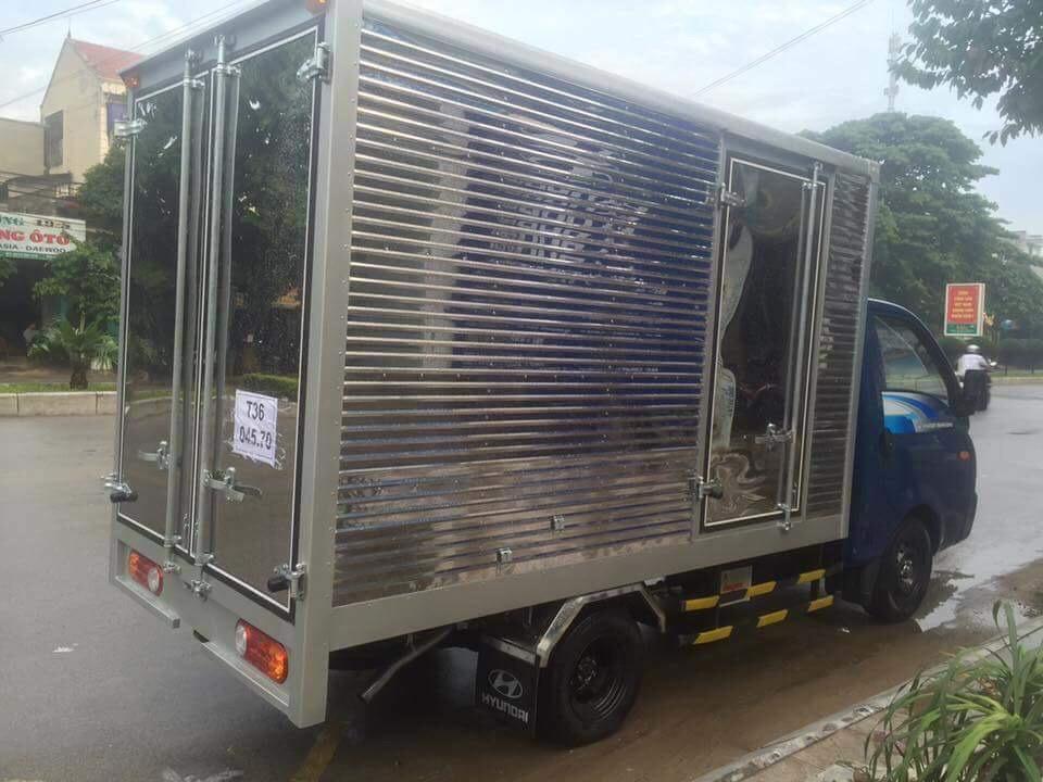 Hyundai New Porter H150 Thùng Kín Inox - Hyundai Việt Trì