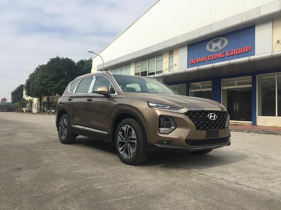 Hyundai Santafe dầu đặc biệt - Hyundai Việt Trì