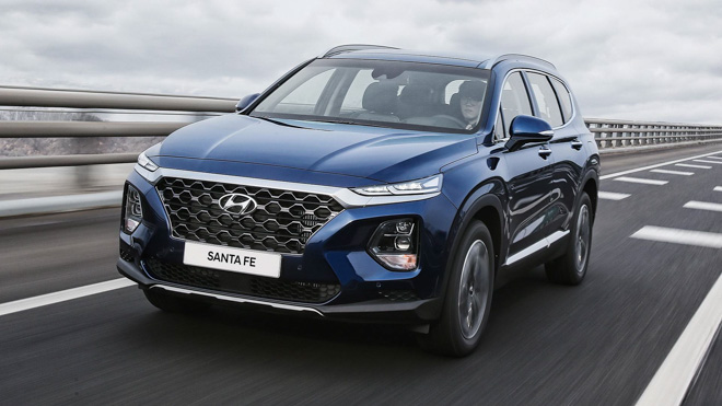 Hyundai Santafe 2019 Giá Tốt nhất - Hyundai Việt Trì